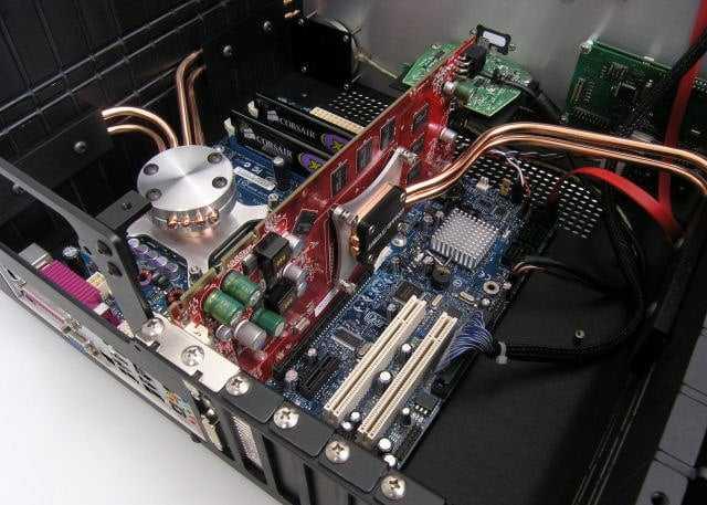 Пассивное охлаждение процессора своими руками