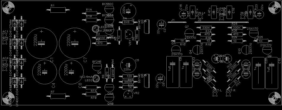 P: Preamp sa BF862 PCB+trafoi - Oglasi - diyAudio rs