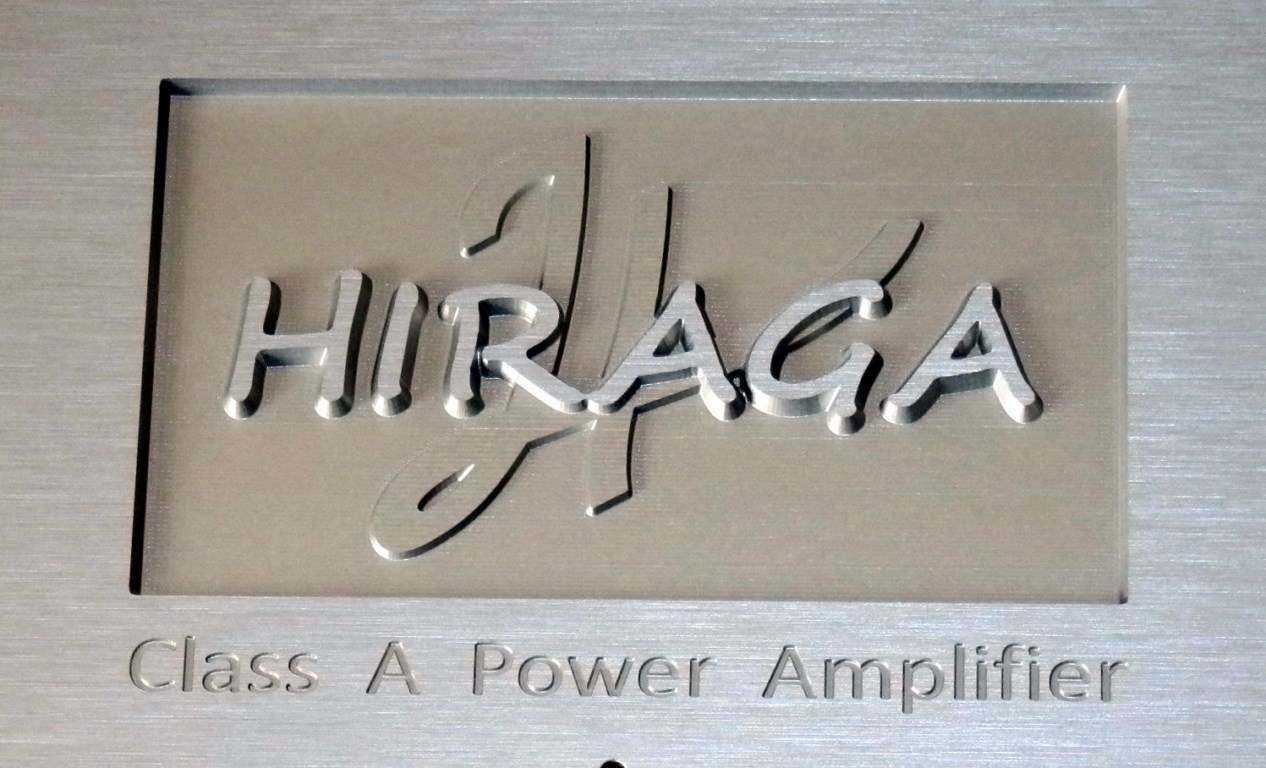 Prednja ploča za HIRAGA power amp  - za kolegu Branka ( Alfi )  /   avg. - sep. 2016.